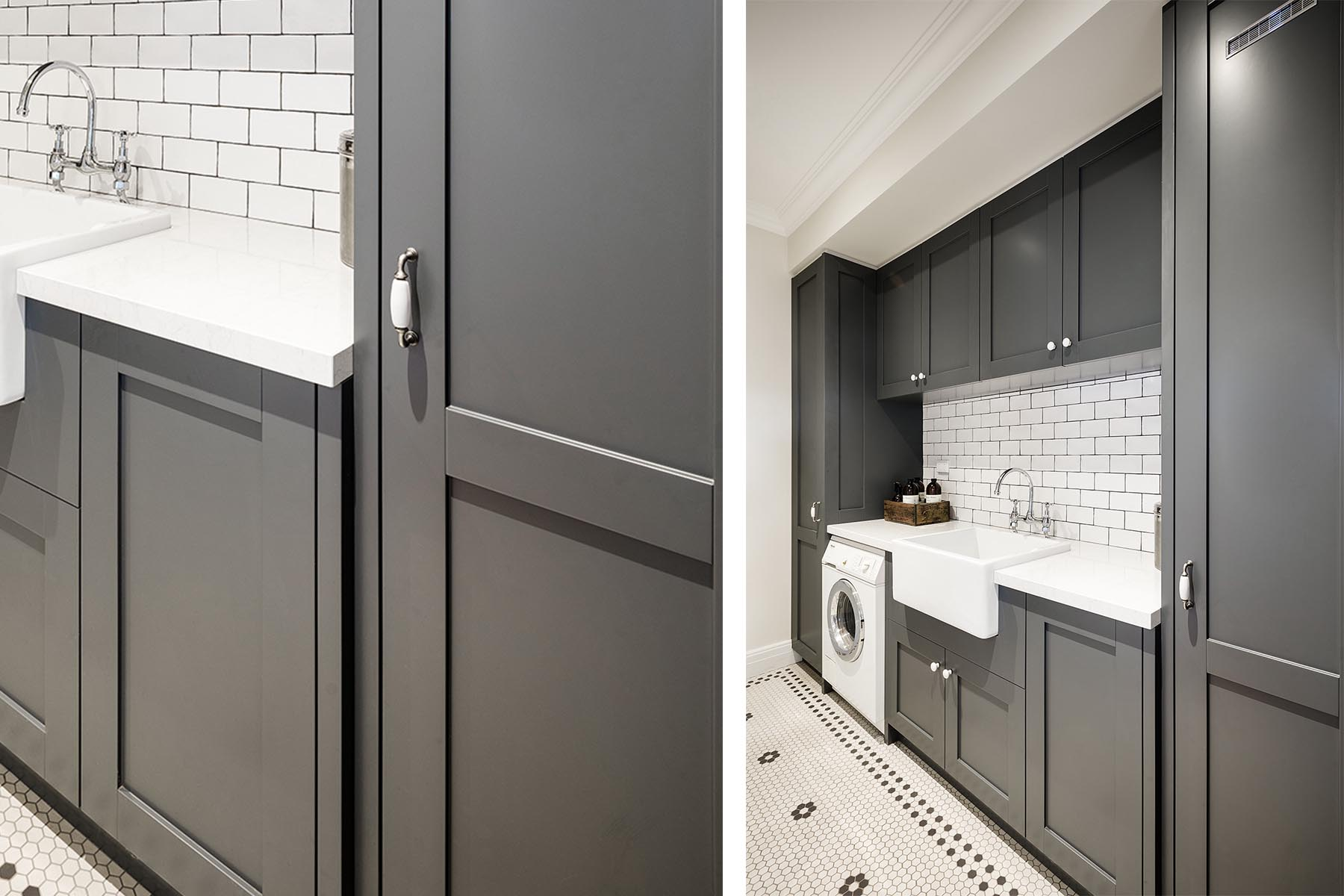 Traditional Hampton Laundry Steding Interiors Amp Joinery