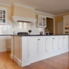 Hampton Style Galley Kitchen