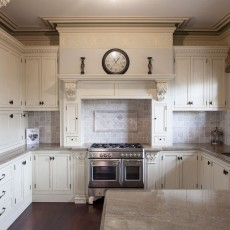 Aged French Provincial Kitchen