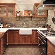 Rustic Recycled Timber Kitchen