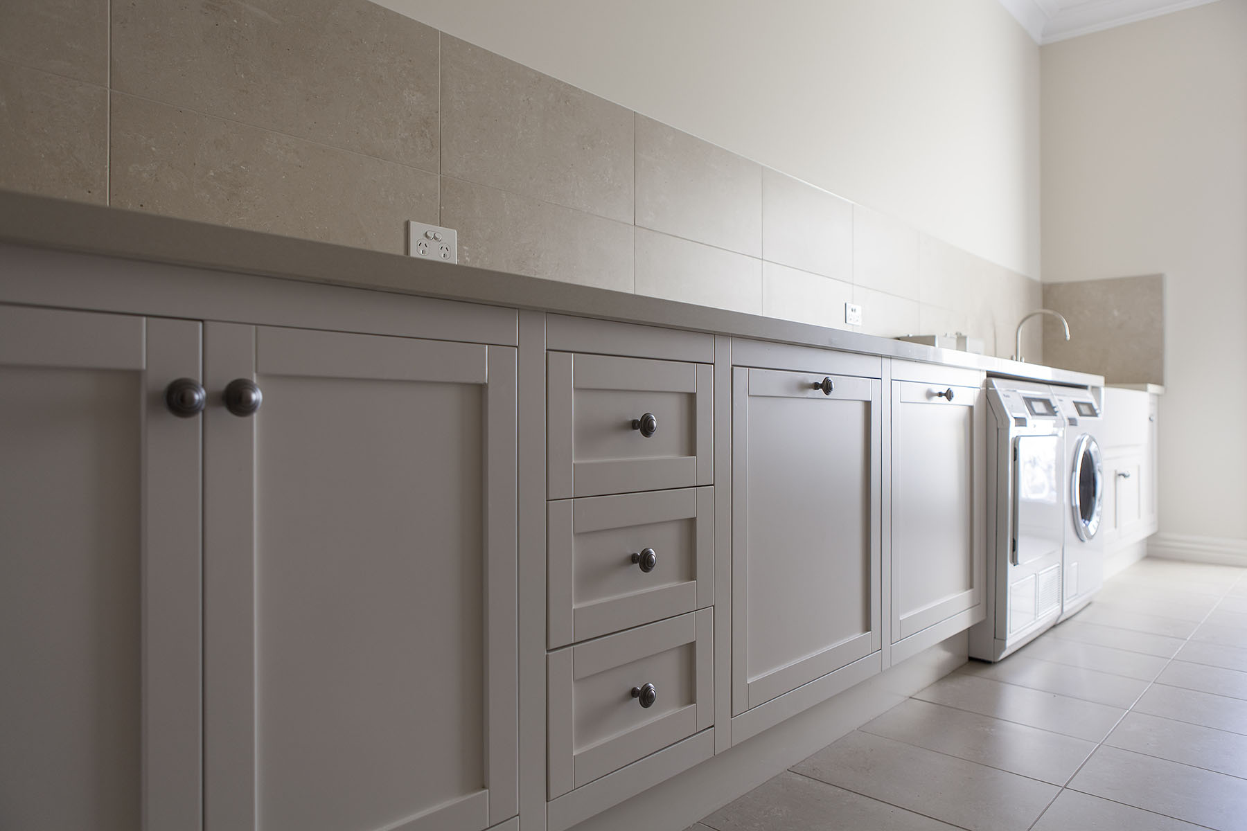 Spacious Hampton Laundry Steding Interiors Amp Joinery